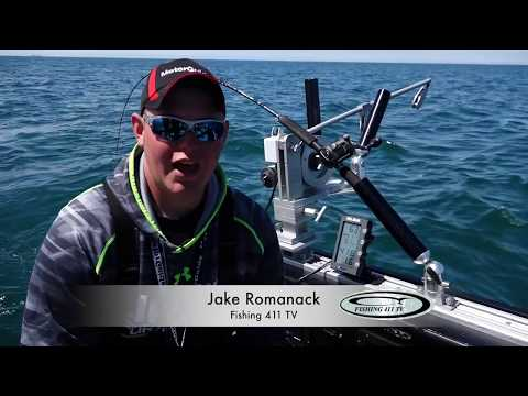 Using A Speed & Temperature Probe On DownRigger Cable