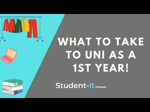 What To Take To University As A First Year - Student Accommodation Tips