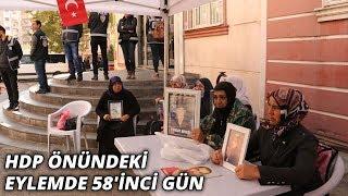 HDP önündeki eylemde 58'inci gün