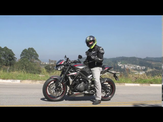Triumph Street Triple RS - Teste - VÍDEO