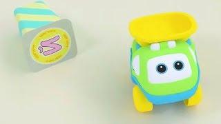 Би-Би Знайки – Буква Й -  мультфильм про машинки – учим алфавит
