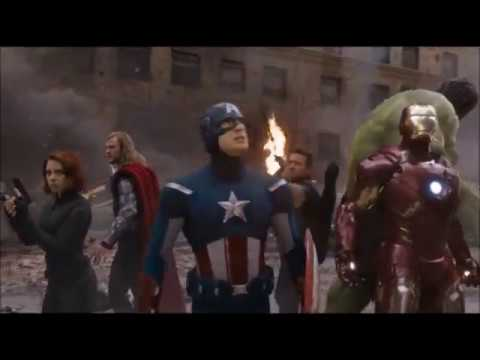 Avengers with the theme of