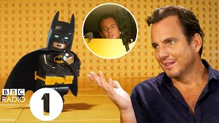 """Nobody beatboxes for me!"" Will Arnett on his *ICONIC* Lego Batman voice and gatecrashing interviews"