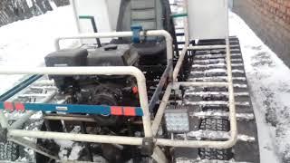 Gambar cover Гусеничный трактор своими руками,доработки