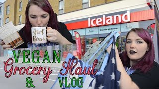Vegan Shopping At Iceland | Grocery Haul & VLOG