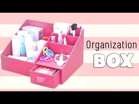 DIY Makeup Storage and Organization | DIY MAKEUP ORGANIZER