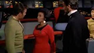 Lincoln & Uhura  -  The Savage Curtain