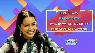Shraddha Kapoor's Five Cutest and Candid Radio City Interviews | Saaho | Chhichhore