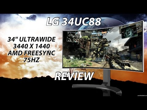LG 34UC88 Review | The Ultrawide Allrounder!