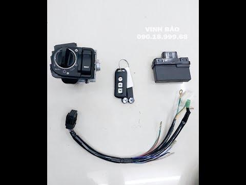 Hàng Hot - Bộ Chìa Khoá Thông Minh Honda - Smart Key Honda Giá Thợ