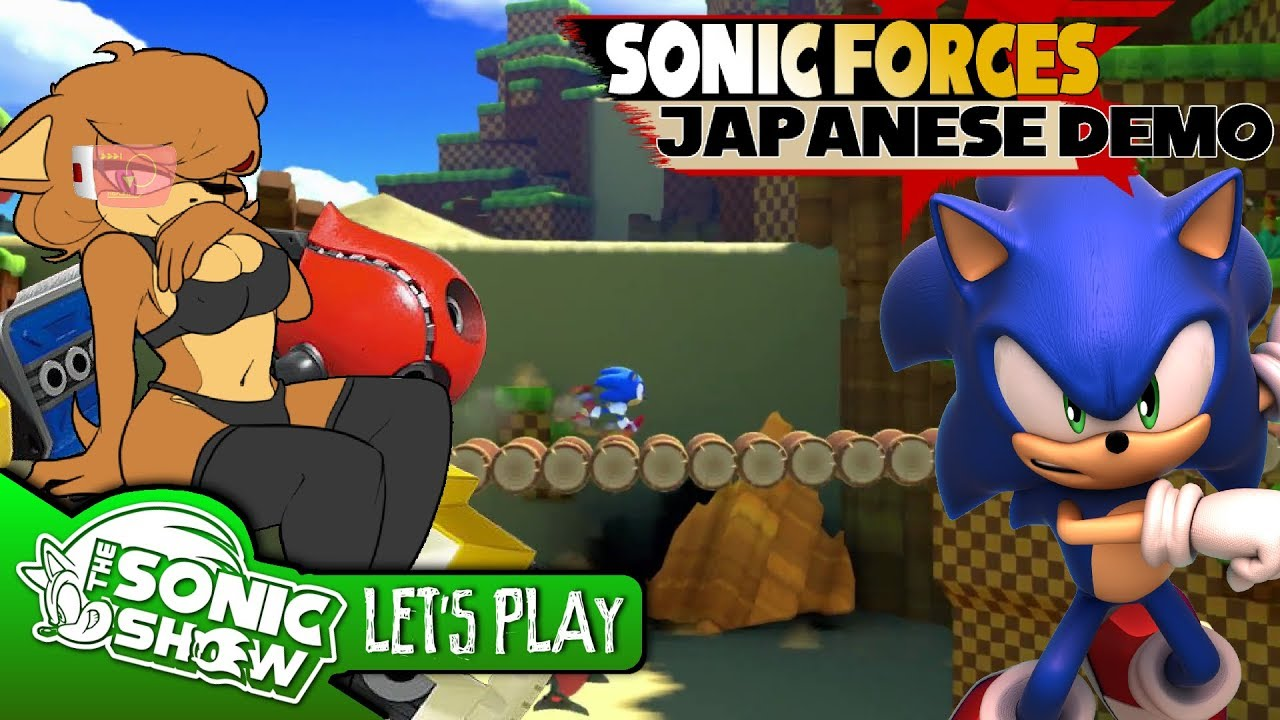 Let S Play Sonic Forces Japanese Demo Youtube