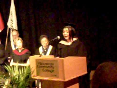 Risa Takahashi Valedictorian Speech