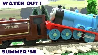Thomas The Train Disney Cars Play Doh Hot Wheels Accident Crash Lego Duplo Spider-Man Montage