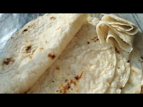 Лаваш из рисовой муки без яиц, без глютена / Rice Flour Lavash  Without Eggs