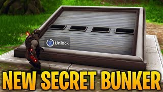 HOW TO OPEN THE BUNKER IN WAILING WOODS in Fortnite Battle Royale