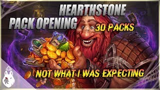 Opening The Mammoth Bundle - Hearthstone Pack Opening