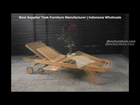 Best Supplier Teak Furniture Manufacturer | Indonesia Wholesale