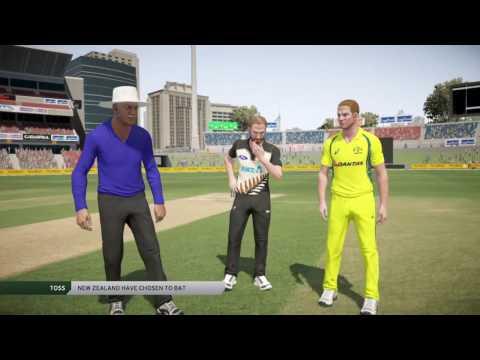 Don Bradman Cricket 17 - My First Game! Aus vs NZ
