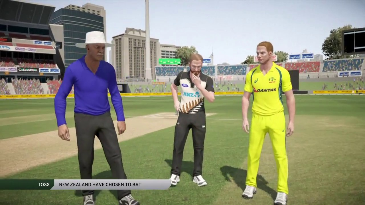 Don Bradman Cricket 17 My First Game Aus Vs Nz
