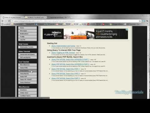 PHP Programming Tutorial - Basic Comment System Using jQuery - Part 1