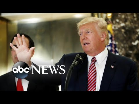 Thumbnail: Donald Trump's news conferences continues to echo across America