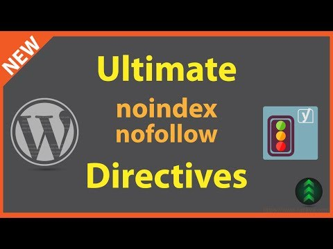 Ultimate WordPress noindex nofollow directives