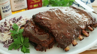 Bourbon BBQ Pork Ribs