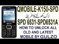 QMOBILE K150 SPD 6531A READ CODE, RESET CODE,  RESTORE, READ FLASH AND WRITE FLASH BY GULZO