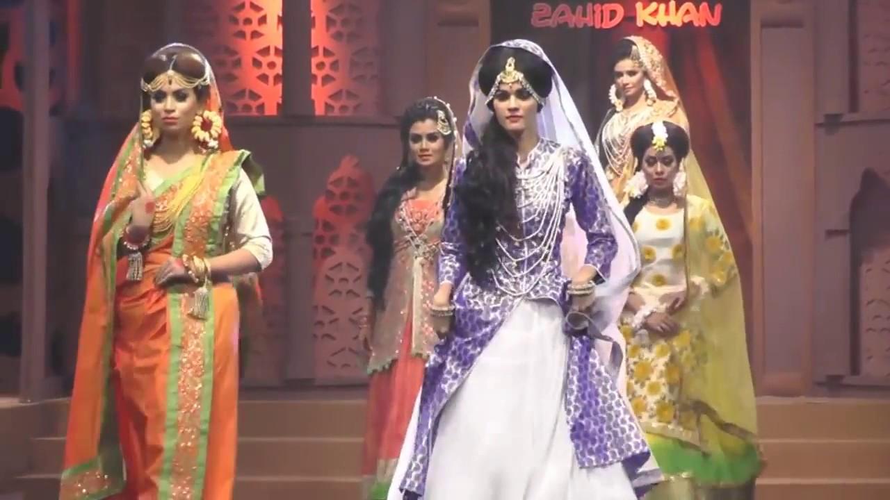 Bangladeshi Bridal Fashion Show 2017 | Zahid Khan Makeover ...