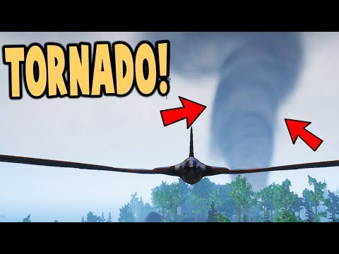 THIS TORNADO DESTROYED All The DINOSAURS! Natural Disaster Update! - Beasts of Bermuda Gameplay
