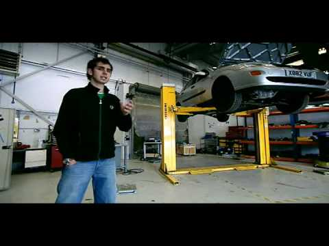 Fifth Gear - Used Car Repaired with Severe Economic Restraint in Crash Test