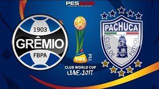 PES 2018 - Grêmio x Pachuca   FIFA Club World Cup   Gameplay. PS4