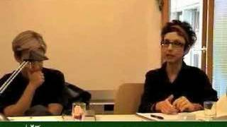 Avital Ronell and Judith Butler. Contemporaneity of Philosophy. 2006 2/3