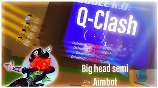 [BIGHEAD AIMBOT] Roblox Q-Clash Exploit Script | Im Aleady Tracer