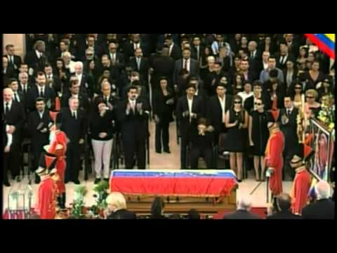 Heads of state pay tribute at funeral of President Hugo Chavez