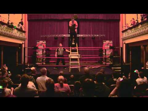 CSF Professional Wrestling. Tables, Ladders and Chairs match ending