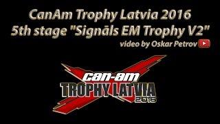 """5th stage """"Signāls EM Trophy V2"""" Madona 08.10.2016"""