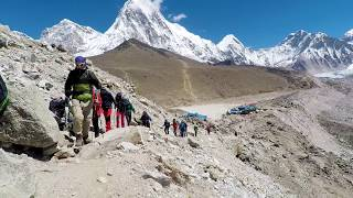 Nepal Travel Video - Everest Base Camp Trek. Kathmandu, Lukla, Namche to EBC.