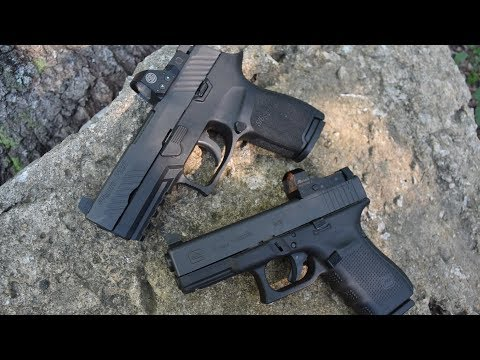 Sig P320 RX Vs Glock 19 MOS...Best Bang For Your Buck!