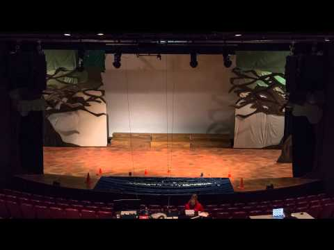 Big Fish: A New Broadway Musical - Set Installation Timelapse