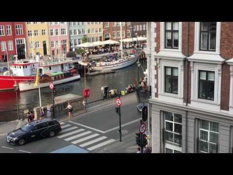 Copenhagen River Nyhavn View from Hotel Bethel Room