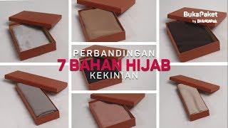 Review 7 Jenis Bahan Hijab Populer | BukaPaket for Her