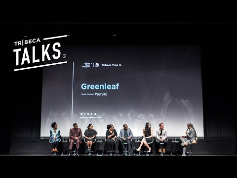 Oprah Winfrey Joined Her Castmates to Talk New Show  GREENLEAF,  at Tribeca 2016