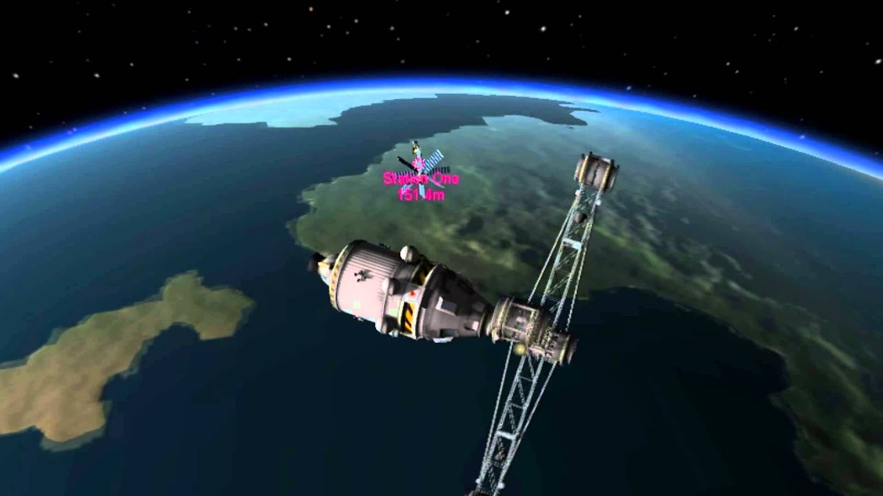 kerbal space program docking-#22