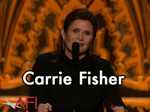 "Carrie Fisher on Shirley MacLaine's ""Colorful Life"""