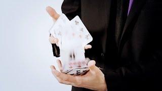 How to Do a Card Cascade   Magic Card Flourishes