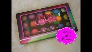 Aurora Lights BH Cosmetics Baked Eyeshadow Palette W/ Swatches