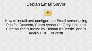 Debian Linux Email Server Part1 (Introduction)