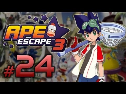 Ape Escape 3 - 24 - My Aki Breaki Heart [Gameplay Commentary & Review]