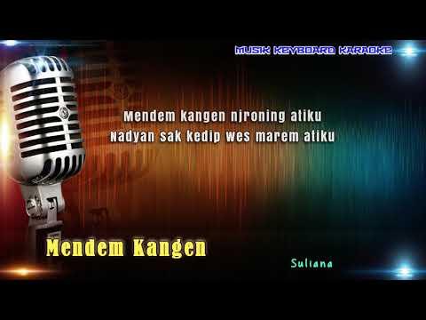 Mendem Kangen Karaoke Tanpa Vokal
